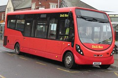 D&G Bus Wright StreetLite 156 (MX11 EHC) (john-s-91) Tags: dgbus wrightstreetlite 156 mx11ehc newcastleunderlyme