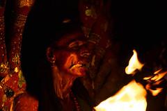 Portrait (Sudharsan Ravikumar) Tags: 500px kulasai kulasekarapattinam mutharamman dasara temple goddess kali fire red makeover low light outdoor men people travel tradition culture festival glow hands pot night thiruchendur tamilnadu india dussehra cwc chennai weekend clickers cwc555 black background