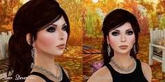 Falling Into Fall - Face & Jewelry (starrdevereaux) Tags: lara hurley skins larahurleyskins sntch indulgetemptation maitreyabody glamorize hellodave empire mock truth