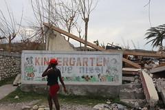Kindergarten destroyed (OCHAHaiti) Tags: haiti hurricane matthew ocha wfp un united nations