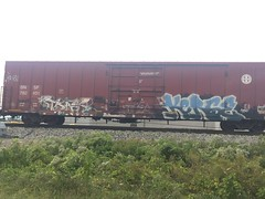 (wrerszytyfg) Tags: fr8heaven train graffiti freights tars kerse