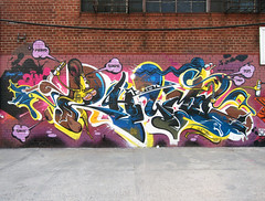 Rhyme (carnagenyc) Tags: nyc newyork brooklyn graffiti awr msk rime rhyme