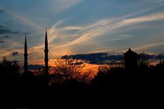 Sunset over my city غروب بالای شهر من (hasantr42) Tags: بهار konya günbatımı غروب gurub قونیه akşamgüneşi رومی مولوی خرشید