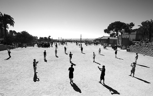Playground in Parc Güell