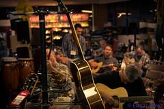 Plucking Along (Eddietherocker) Tags: ca bass guitars strings frets madeintheusa taylorguitars