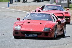 Brooklands Italia day 2013 - Ferrari f40 (jamesst1968) Tags: italia ferrari lamborghini brooklands italiaday