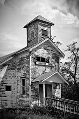 Christian Church (photographyguy) Tags: abandoned oklahoma decay ghosttown weathered picher christianchurch
