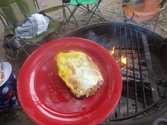 Breakfast-in-a-Bag: Result (fordsbasement) Tags: camping breakfast campfire