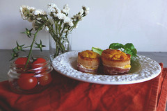 sweetpotato cakes wrapped in bacon (Petiscos e Miminhos) Tags: cakes cake sweetpotato savory fingerfood