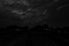 Lightning 5/18/13 (SFHPhotography) Tags: cloud storm rain weather night clouds streak cloudy tokina strike thunderstorm lightning storms raining thunder 5d3 5dmarkiii
