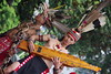 Two Men (flamewave_double_x) Tags: borneo traditional tattoo sape dayak guitar