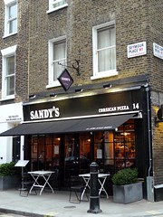 Sandy's, Marylebone, W1 (Ewan-M) Tags: england london restaurants w1 sandys imbiss marylebone rgl w1h seymourplace formerbar pizzarestaurants needsrglreview corsicanrestaurant greatcumberlandmews corsicanfood corsicanrestaurants