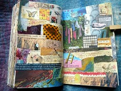 12 wtj The door opener (LaWendeltreppe) Tags: art collages journal wtj