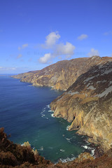 Slieve League, County Donegal (Nazrie_  ) Tags: ireland seascape canon landscape coast bluesky cliffs hdr donegal 2470f28l slieveleague 2013 5dmkii