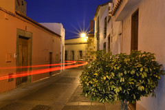 Casco de Agimes (Jess Alberto Ramrez Viera) Tags: old night lights luces noche village tail canarias canary casco antiguo estela agimes