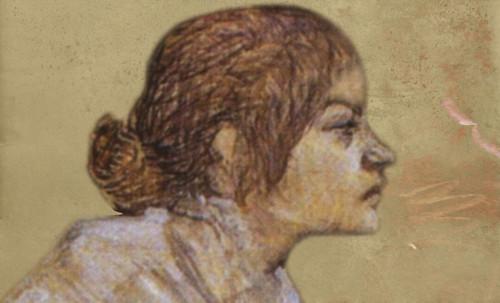 "Las Madeleines escuchando la soleada soledad, descripciones de Henri de Toulouse Lautrec (1889) y Pablo Picasso (1904). • <a style=""font-size:0.8em;"" href=""http://www.flickr.com/photos/30735181@N00/8815728414/"" target=""_blank"">View on Flickr</a>"