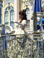 Belle at Disney World (Willy Goodman 007) Tags: parade belle waltdisneyworld magickingdom celebrateadreamcometrue