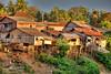 Houses-at-the-River-in-Battambang-Cambodia (Captain Kimo) Tags: travel river cambodia khmer culture battambang houseonstilts hdrimage singleexposurehdr cambodianhouse topazadjust captainkimo