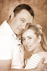 Как за Каменной Стеной (MissSmile) Tags: family portrait love sepia couple memories dream together tenderness creatove misssmile