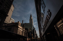 Highly Distorted Chrysler Building in the Distance (misterperturbed) Tags: newyork chryslerbuilding