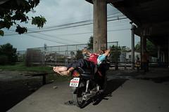 * (Sakulchai Sikitikul) Tags: street sleeping thailand sleep sony voigtlander 28mm streetphotography snap songkhla motorcycle hatyai a7s