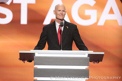 Governor Rick Scott - 2016 Republican National Convention in Cleveland, OH #RNCinCLE (mikelynaugh) Tags: rncincle republicannationalconvention rnc republican trump convention cleveland americafirst makeamericagreatagain politics politicalrally ohio trump2016 governorscott rickscott