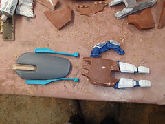 Arm and Hand Parts (thorssoli) Tags: schick hydro robotrazor razor sdcc comiccon sandiego conx entertainmentweekly costume suit prop replica hydrorescue schickhydro