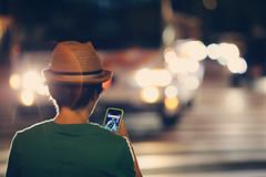 Pokmon, Watch out!!! ([~Bryan~]) Tags: pokmongo pokmon pokemon street nightlight zebracross crossing hat people osaka game phonegame app nintendo 3ds vr cinematic   bokeh 135l