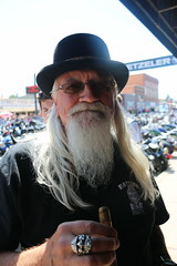 The People of Sturgis - Day 2 (rejwa1) Tags: cameragirl crazyoldlady sturgis sturgis2016 sturgissouthdakota hotness