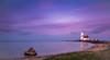 Just a lighthouse (roberto_blank) Tags: longexposure paardvanmarken landscape zuiderzee sigma24mmf14 water island marken nikon eiland ijsselmeer landschap noordholland thenetherlands