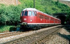 456 407  Stg. - Mnster  21.05.81 (w. + h. brutzer) Tags: analog train germany deutschland nikon eisenbahn railway zug trains db 456 eisenbahnen triebwagen triebzug et56 triebzge webru stgmnster