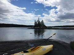 Kayaking in the Basin (moonwatcher13) Tags: maine basin kayaking vinalhaven iphone iphone6 instagram