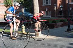 Highwheel Race (8-13-16)-249 (nickatkins) Tags: bike bikes biker bikers bikerace bikeraces bikeracing cycling cyclist race bicycle bicycling bicyclist highwheel old oldtime frederick historic