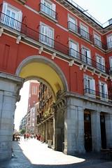 Plaza Mayor.  (Madrid) (raqueelfdez) Tags: madrid spain beautiful plazamayor nice travel holidays