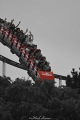 roller coaster (n.intveen) Tags: fun spas thrill nervenkitzel achterbahn rollercoaster hansapark ostsee