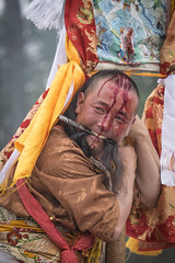 2016_Tibet_Flickr_2star-125 (arkienkeli) Tags: tibet repkong shaman festival tongren amdo