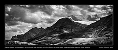 Citadel Peaks, Mt. Campbell, Porcupine Ridge, Mt. Richards, Mt. Crandell and The Prince of Wales Hotel, Waterton Lakes National Park, Alberta (kgogrady) Tags: afternoon alberta citadelpeaks infrared landscape mtcampbell mtcrandell mtrichards porcupineridge summer theprinceofwaleshotel watertonlakesnationalpark waterton canada building blackandwhite canadianlandscapes blackwhite canadianrockies cans2s 2016 bw albertalandscapes ab canadianmountains canadiannationalparks canadianrockieslanscape fujifilmxpro1 fujinon fujifilm clouds westerncanada xf55200mmf3548ois xpro1 trees mountains nopeople noone