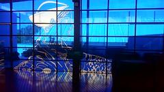 Centro de Visitantes. Antigua Fbrica de Hielo - Cristalera emplomada (La Orden del Camino) Tags: laordendelcamino sanlucardebarrameda
