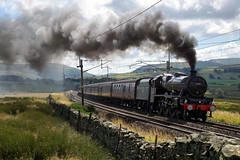 45690 Leander (kailhen) Tags: steam engine locomotive loco lms jubilee leander shap cumbrian mountain express railway 45690