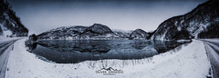 srfold  nordland  norway  (Oliver Jerneizig) Tags: oliverjerneizig oliverjerneizigde wwwoliverjerneizigde norwegen norway norge lofoten north wilderness landschaft landscape outdoor canon 6d canon6d srfold sorfold lake eis ice seenschnee snow winter mountains blue cold lofotes