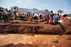 New displacement in Wau (Albert Gonzalez Farran) Tags: idp idpcamp iom ocha poc southsudan camp conflict displacedpeople displacement victims war wau