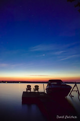 A Little After Nine (Just Call Me Dave) Tags: efs1018f4556isstm lyrics night stars canada ontario fenelonfalls summer sunset bluehour boat water