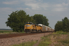 54342 (richiekennedy56) Tags: unionpacific sd70ace sd70m up8387 up4671 kansas newman perry jeffersoncountyks railphotos unitedstates usa