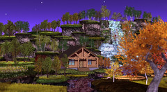World Is Colorful at 21strom (zuza ritt) Tags: free freebie gift metaversum seasonal secondlife spring summer autumn fall indiansummer virtuallandscape virtualworld virtualworldphotography virtualworldvideo digitallandscape digitaltree waterfall lake island digitallandscaping gamelandscape