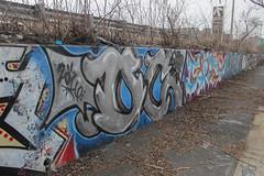 Oc (NJphotograffer) Tags: graffiti graff new jersey nj bumtrail riverwalk oc mhs crew