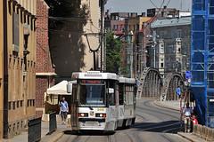 Konstal 105NaWr #2400+2425 MPK Wrocaw (3x105Na) Tags: konstal 105nawr 24002425 mpk wrocaw mpkwrocaw polska poland polen tram tramwaj strassenbahn