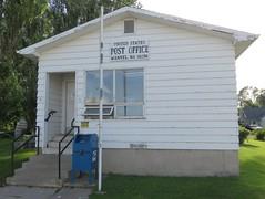 Post Office 58256 (Manvel, North Dakota) (courthouselover) Tags: northdakota nd postoffices grandforkscounty manvel