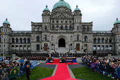 #RoyalTour 2016 kicks off in Victoria (BC Gov Photos) Tags: parliamentbuildings victoria britishcolumbia royaltour dukeandduchessofcambridge