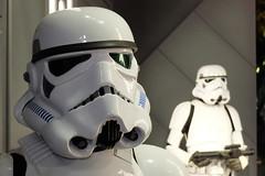 Troopers (sgreen757) Tags: fuji fujifilm x30 london england uk madame tussauds storm trooper star wars waxworks