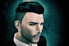 He (Trixie Pinelli) Tags: mesh tmp themeshproject portrait icon sl secondlife male gentleman